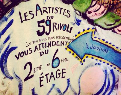 Artistes du 59 Rivoli