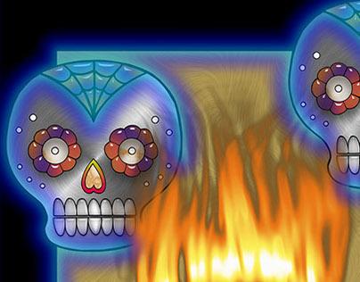 The Skulls Aglow