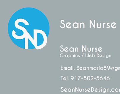 SeanNurseDesign Website