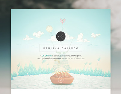 Paulina Galindo Personal Website