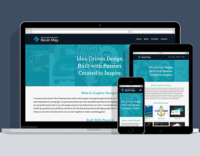 2014 Responsive Portfolio Redesign