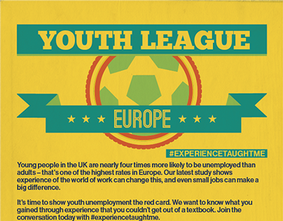 Youth Unemployment Infographic (Europe)