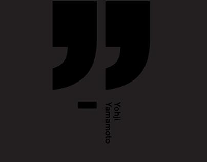 Black Typography Quote