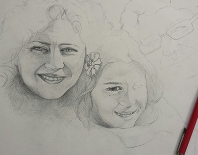 Retratos por encargo - Familia Vazquez