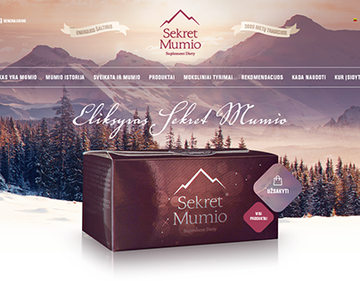 Mumio. Mineral Substance