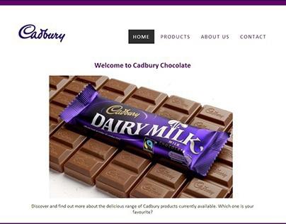 Cadbury Chocolate Mockup