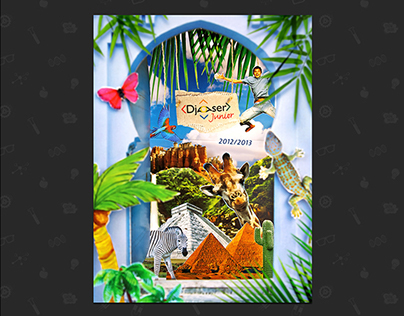 Cover design travel agency