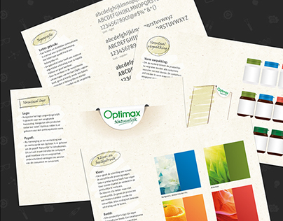 Food supplements - packaging design