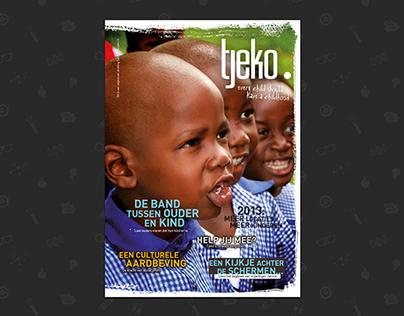 Tjeko - charity branding and design