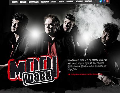 Mooi Wark Website (onepage)