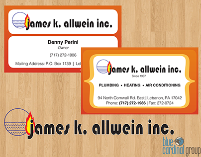 James K. Allwein Branding | Web and Print