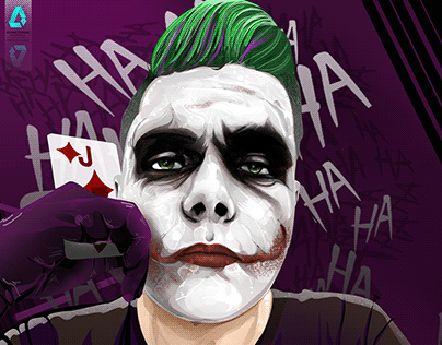 oreder El Joker Vector Art