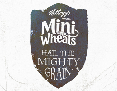 Frosted Mini-Wheats. The Power of Wheat