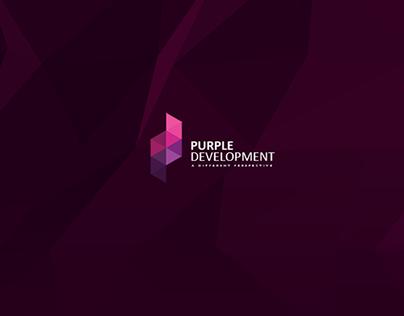Purple Development   Brand Identity.