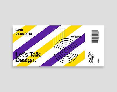 Let's Talk Design   6th edition