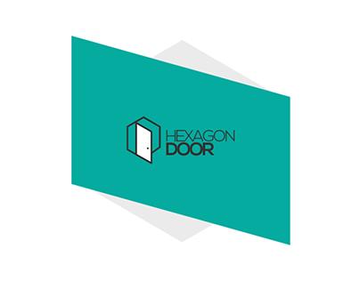 Hexagon Door   brand Identity