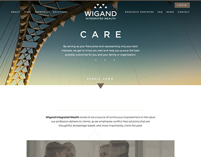 Wigand Integrated Wealth Website
