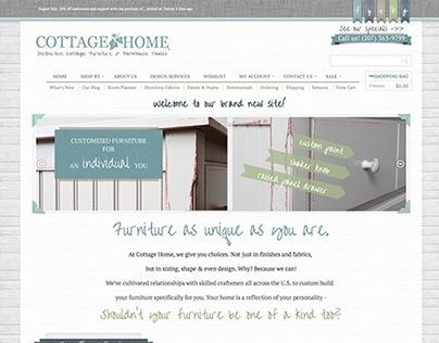 Cottage Home Furniture - eCommerce