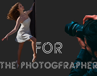 Web-design for the photographer's site