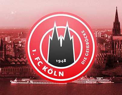 1. FC Köln // Logo Redesign