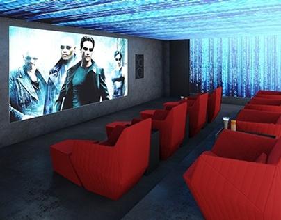FUTURISTIC HOME CINEMA
