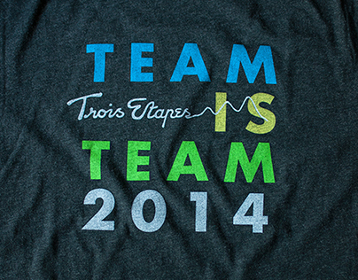 Team Rwanda 2014 Trois Etapes T-Shirt Design