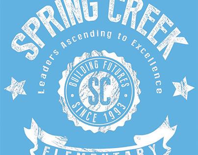 Spring Creek Elementary | T-shirt Design