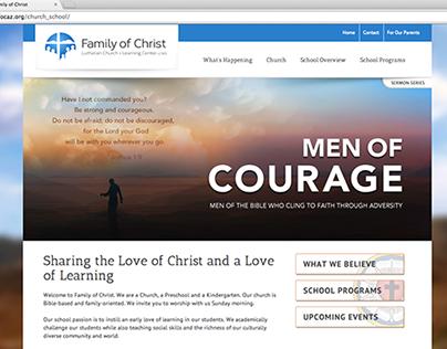 Family of Christ Website