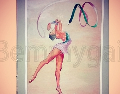 Evgenia Kanaeva Acrylic Painting