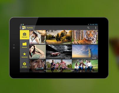 Showfolio - A Portfolio App Concept for Creative People