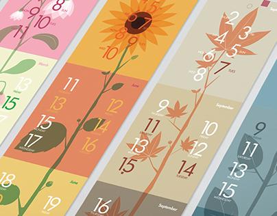Fedrigoni Plant Calendar 2015