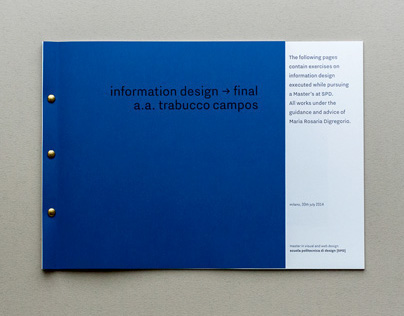 Information Design collection → Spring 2014