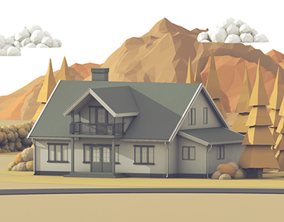 Sparebanken Sør Bank - 'Home Loans' Illustration