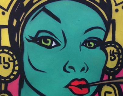 Astek girl canvass Keshone ™ 2014