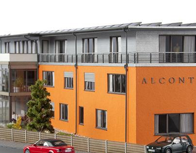Commercial building 'ALCONTAS'