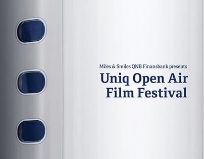 UNIQ Open Air Film Festival - Print