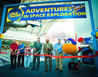 Space Racers Exhibit