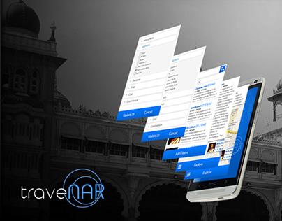 Travenar: A Travel App Concept
