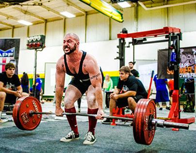 Anthony Baker - Powerlifter