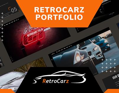 RetroCarz - Responsive portfolio Template