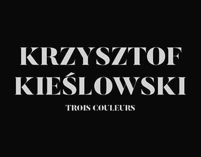 Krzysztof Kieślowski's Trois Couleurs