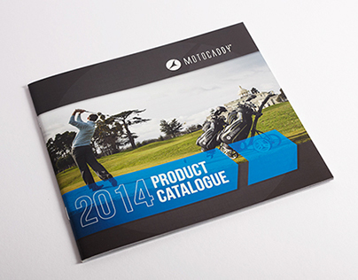 2014 Motocaddy Product Catalogue
