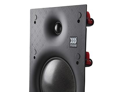 In-wall speaker plastic frame
