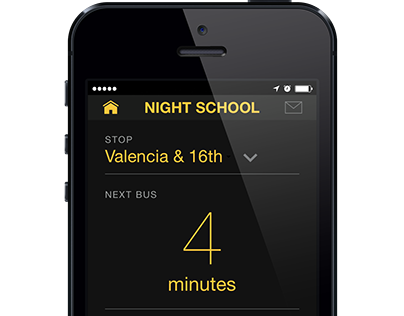 Night School UI/UX