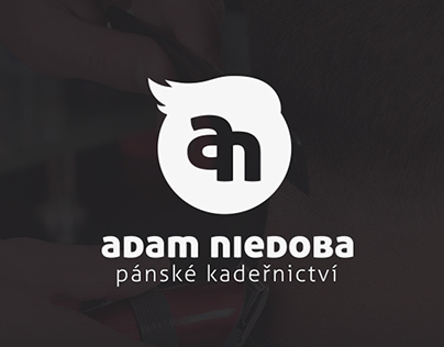 Adam Niedoba - male hairdresser | Branding
