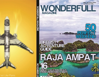 Cover Wonderfull Magazine