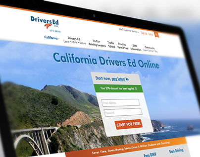 DriversEd.com Landing Page Optimization