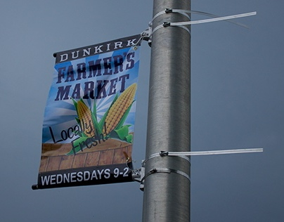 Dunkirk Farmers Market - Branding and Banners