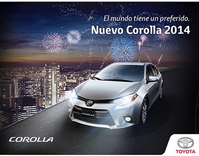 Toyota Corolla 2014 (Lanzamiento Web) - New Website