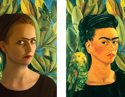 Remake of Frida Kahlo